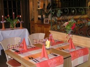 Unser Restaurant - Wir freuen uns auf Ihren Besuch