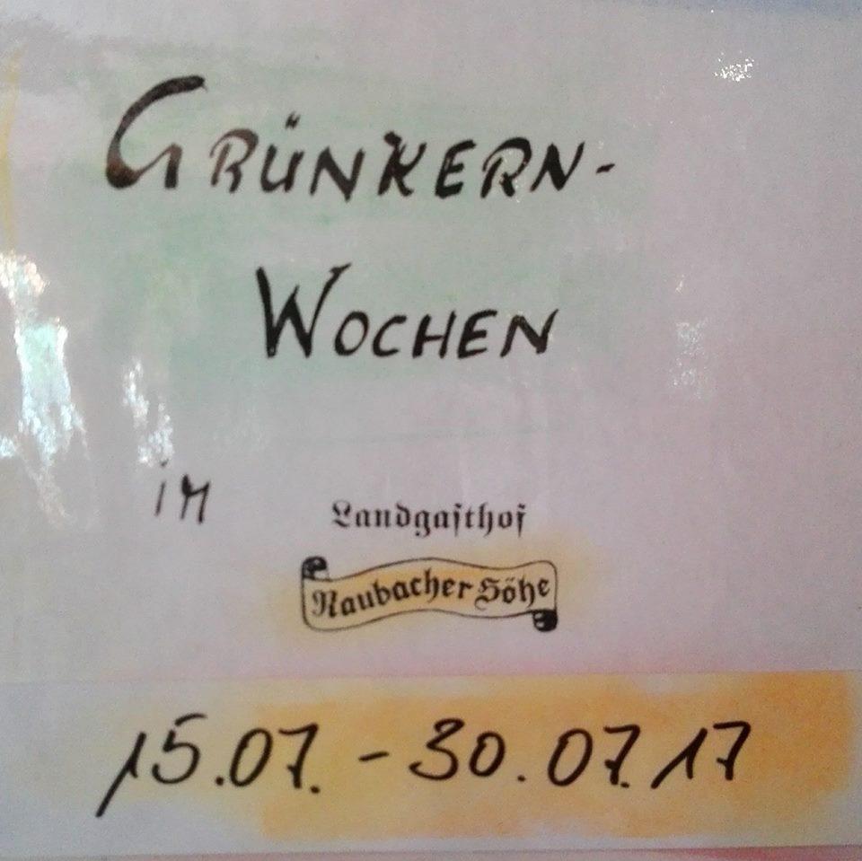 Grünkernwochen 2017